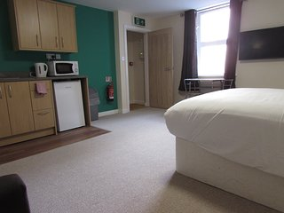 Seafront Studio Apartment in Burnham-on-Sea - Exclusively for Adults Only