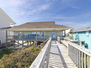 N. Shore Dr. 504 | Heart of Surf City | Direct Oceanfront | Enc. Outside Shower!