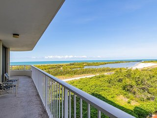 Panaromic views from the front wrap balcony of this nicely Updated Condo