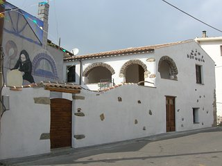 Sardinian traditional home in the Gulf of Orosei