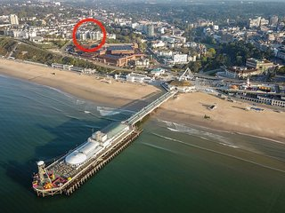 New - Central Bournemouth - 3 mins walk to the beach - Secure Parking