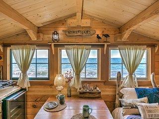 Fisherman's Cabin Between Beaches Alaska