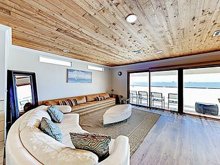 New Listing! Coastal Retreat w/ Fireplace & Ocean Views