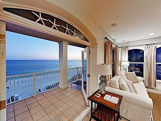 Posh 'Sunset Villa' Beachfront Condo w/ Incredible Gulf Views & Pool