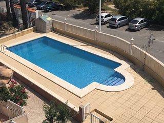 Duplex con vistas al mar/montana con piscina