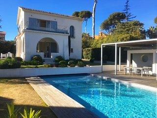 Villa avec piscine au coeur de Cap d'Antibes