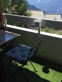 Le balcon sans vis à vis et sa vue dégagée