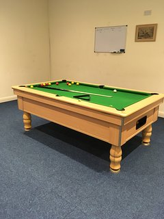 Pool table available for guests to use