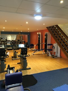 Gym available for guests to use