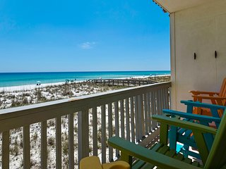 Villas on the Gulf unit M5 (2bed/2bath Gulf Front condo)