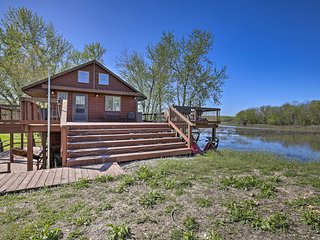 NEW! Lodge on 240 Acres w/ Deck, Grill & Fire Pit!