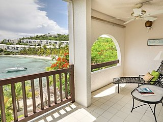 NEW! Beachfront St Thomas Condo w/Bay View & Pool!