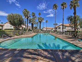 NEW! Desert Falls Resort Villa w/ Deck+Pool Views!