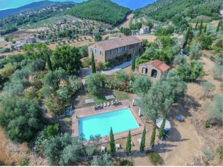 Villa Agello - Rustic villa with pool, near Lake Trasimeno
