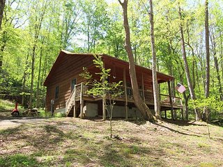 River Phoenix - 2BR/1BA Creekside Cabin w/WIFI, Fire Pit & Pet Friendly!