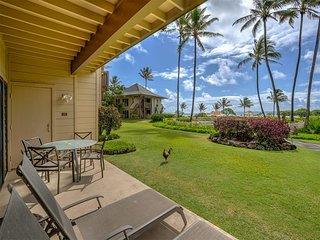 East Kauai Bliss w/Ocean View Lanai, WiFi, Ceiling Fans