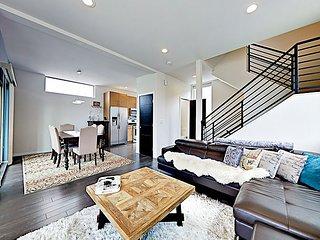 Marketing Headline: Modern Green Home w/ Chef's Kitchen & Puget Sound Views f