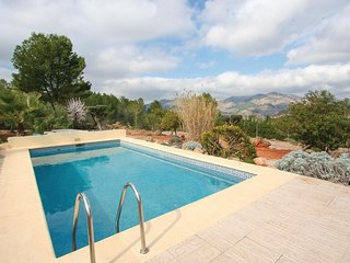 Amazing apartment in Lliber w/ Outdoor swimming pool, Internet and 1 Bedrooms