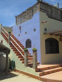 Exterior Staircase to Casita