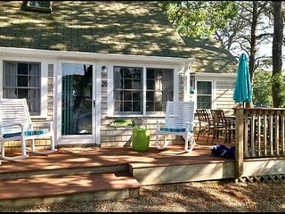 Adorable two bedroom home with a/c less than 500 feet to Sea Street Beach!
