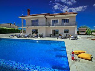 Villa Elena is a peaceful oasis for relaxation in Istria.