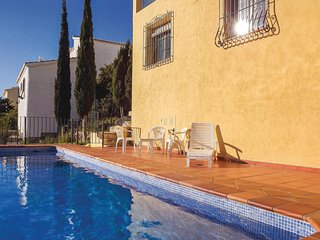 Nice home in Benitachell w/ Outdoor swimming pool, Outdoor swimming pool and 4 B