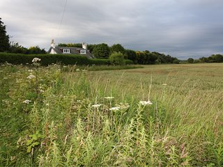 Country cottage just outside St Andrews, ideally situated for all golf courses.