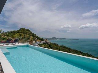 Luxury Sky Dream Villa with panoramic Sea View
