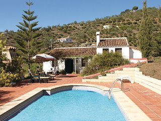 Casa rural con piscina en Malaga