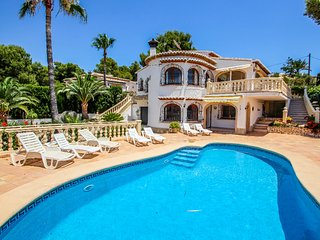 Rondel - sea view villa with private pool in Costa Blanca