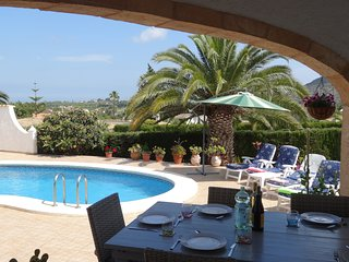 Beautiful spacious 3 bed villa on La Sella, private pool, one level, wifi.