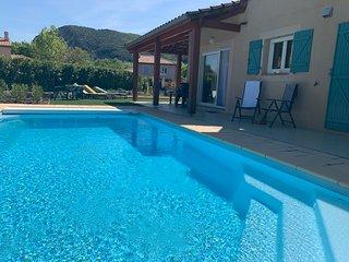 Villa des Montagnes voor 8 personen met privézwembad