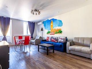 Stylish new apartment on Zagorodniy 8