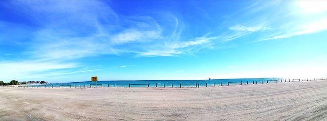 Playa junto al Apartamento Nuevo Confort de Vera Playa