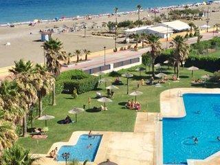 La Noria IV. Primera Línea, piscina,parking. Terraza y Jardín privado