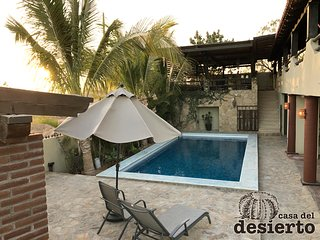 With private pool, beautiful home for 12 people: Casa del desierto in San José