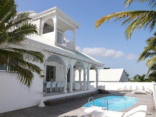 Villa CHARLES vue panoramique sur la mer 16 pers à l'Anse des Rochers
