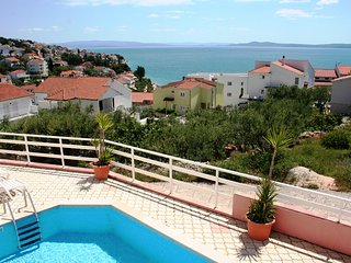 Cosy two bedroom apartment with beatiful sea view and communal swimming pool