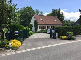 A 3 km de St Valery villa 4* indépendante sur grands jardin et parking clos