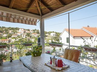 Apartments Gorana - One-Bedroom Apartment with Terrace and Sea View(A2) (ST)