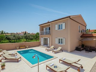 Brand new villa Dijana**** with swimming pool, summer kitchen,WiFi,barbecue