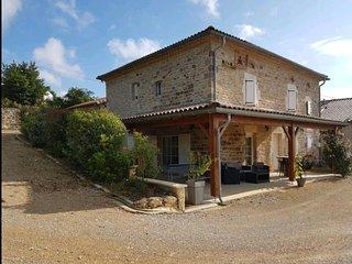 Maison Foncaudieres au coeur des vignes à Campagnac
