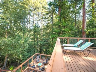 'Tree Fort'HotTub! Decks! FireTable 'Smart House'