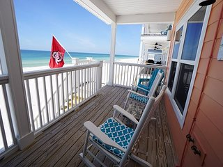 New Listing! North Cape San Blas, only steps to the water's edge! Beach gear