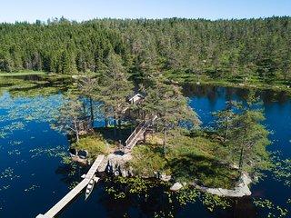 Island Cabin - TreeTop Fiddan