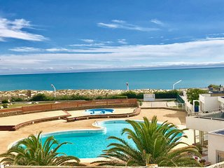 Appartement belle vue mer piscine wifi tennis mini golf