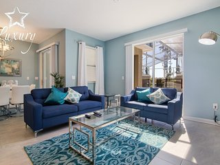 Beautiful 4BR 3Bth Champions Gate Townhouse with Private Splash Pool