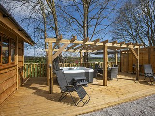 Oak Lodge, Washford - Holiday Lodge for 4 with private hot tub