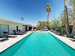 Tres Palmas | Mid-Century Jack LaLanne Home | Pool, Spa & Firepit