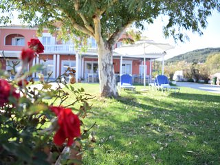 B&B Christina beachfront rooms & taverna in Petriti Corfu